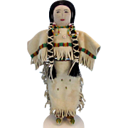 SALE Plains Native American Indian Beaded Doll
