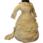 SOLD Antique Fashion Dress for Lady Doll Circa 1900's