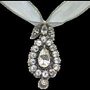 Edwardian Paste Pendant