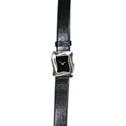 SALE Angela Cummings Sterling Silver Watch