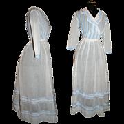 SOLD Antique Seaside Promenade Dress c1910