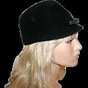 Vintage Betmar Hat c1960 Riding Style in Velvet