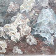 Luella Lue Ann Texas Abstract Floral Bouquet Oil Painting Original