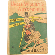 Antique 1914 Uncle Wiggily's Automobile Howard R. Garis Book Pages 217