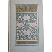 Antique 1910 Poems Mary Baker Eddy Christian Science Hardcover