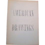 SALE 1964, American Drawings The Solomon R. Guggenheim Museum, New York, 47 Pages