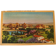SALE Early-Mid 1900's UCLA University of California Los Angeles, CA NOS Postcard
