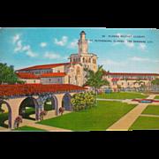 Vintage Florida Military Academy St. Petersburg, Florida Sunshine City Postcard