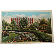 SALE 1915-1930's East Side Park Commercial Manual Training School Neward Postcard