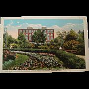 1915-1930's East Side Park Commercial Manual Training School Neward Postcard