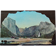 SALE Yosemite National Park Portal of Grandeur Wawona Tunnel New Old Stock Postcard