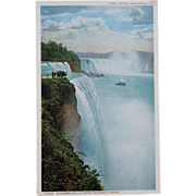 SALE Niagara Falls From Prospect Point Vintage NOS New Old Stock Postcard Roadside