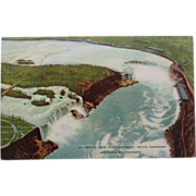 SALE Aerial View Niagara Falls Royal Canadian Air Force NOS New Old Stock Postcard