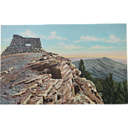 SALE View From Kiwanis Point Sandia Mountains New Mexico Vintage NOS New Old Stock Postcard