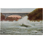 SALE The Whirlpool and Giant Wave Niagara Falls Vintage NOS New Old Stock Postcard