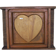 Industrial Vintage Heart Chocolate Mold