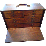 Vintage Machinist Tool Cabinet 1940
