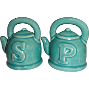 SOLD Miniature Tea Pots Salt and Pepper Shakers