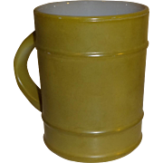 SALE Anchor Hocking Fire King Green Ranger Mug