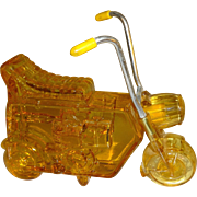 SALE Avon Mini Bike Men's Wild Country Aftershave Cologne Bottle