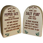 SALE Headstones Salt and Pepper Shakers - Made in Japan