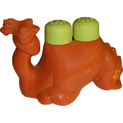 SALE Plastic Camel Salt and Pepper Shakers