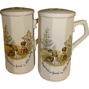 SALE Holly Hobbie Salt and Pepper Shakers