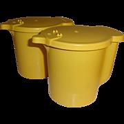 SALE Vintage Tupperware Sugar or Creamer Containers