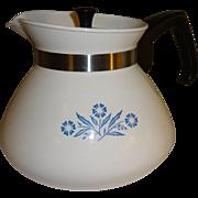 SALE Corning Ware 6 Cup Cornflower Teapot