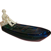 SOLD Avon Gone Fishing Decanter Bottle with Men's Cologne