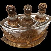 SALE German Ormolu Art Nouveau Perfume Caddy