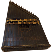 SALE 19th Century No. 1 Phonoharp Zither