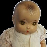 "SALE 1937 Horsman 21"" Composition Brother Doll"