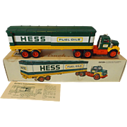 SALE 1975 Hess Tractor Trailer Battery Operated Truck