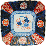 SALE Early 20th Century Japanese Imari Sushi Plate