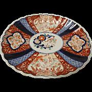 SALE Japanese Early Meiji Period Imari Platter