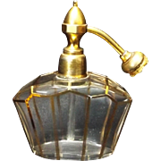 SALE French Crystal Art Deco Perfume Atomizer
