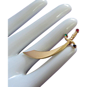 SALE Tiny Trifari Sword Pin