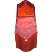 19th c. Sheraton Knife Box