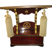 Fraternal Order Book Stand with Drawer