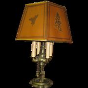 Antique Four Burner Oil Lamp