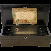 19th c. Swiss Music Box