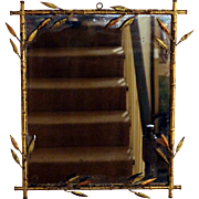 Art Deco Hollywood Regency Style Gilded Mirror
