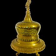Antique Turkish Brass Brazier