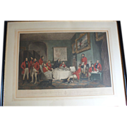 """SOLD 19th c. Engraving """"The Melton Breakfast"""" Sir Francis Grant"""