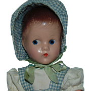 SOLD A/O Antique Compo Effanbee Suzette