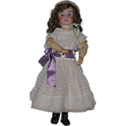 """SOLD Beautiful 23"""" Antique German Bisque Doll"""