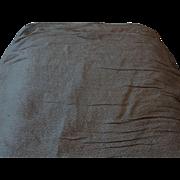 "Vintage silk damask 36"" selvages 8 yards beautiful unused fabric wedding bridal"