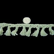 Antique cotton tassels strand dolls