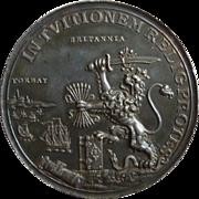 William III of Orange Lands Torbay 1688 Dutch Silver Medal Commemorative England